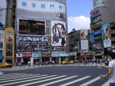 台湾2012.8西門町①