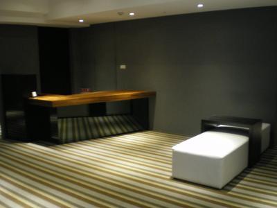 台湾2012.8ホテルフロント