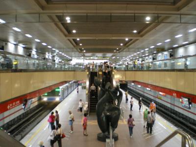 台湾2012.8台大医院駅