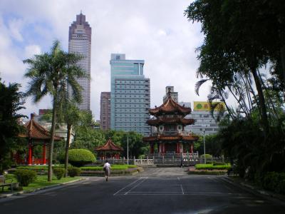 台湾2012.8二二八公園楼閣