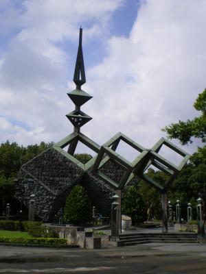 台湾2012.8二二八公園記念碑