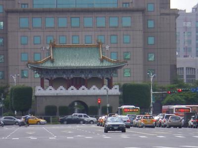台湾2012.8台北景福門