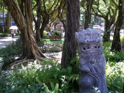 台湾2012.8永康街公園