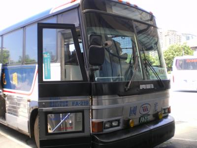 台湾2012.8空港バス(国光バス)