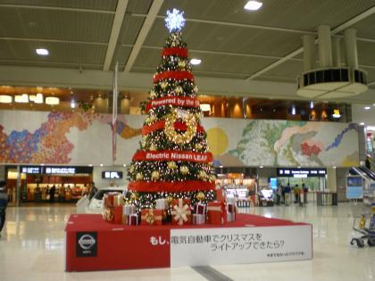 香港2012.12出発ロビー