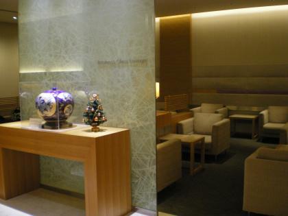 香港2012.12中華航空ラウンジ内部
