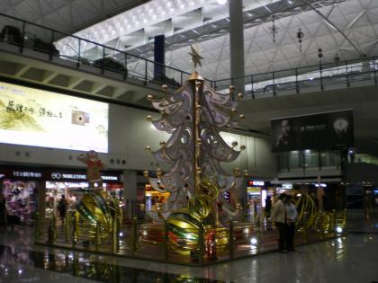 香港2012.12香港空港到着ロビー