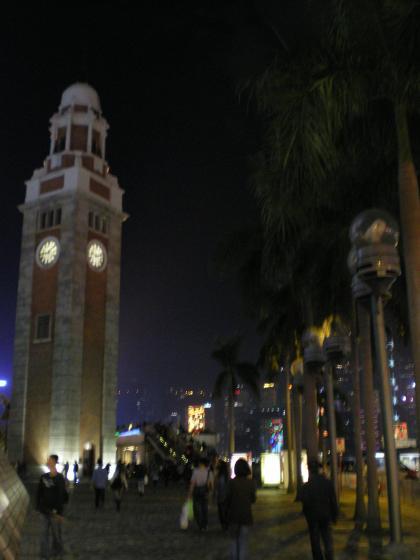 香港2012.12尖沙咀時計塔①