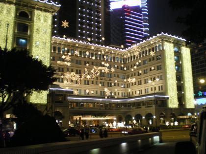 香港2012.12ペニンシュラホテル夜景①