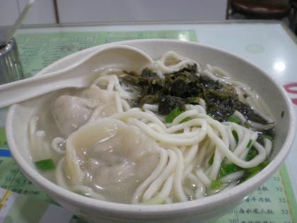 香港2012.12唯一麺家餃子高菜麺②