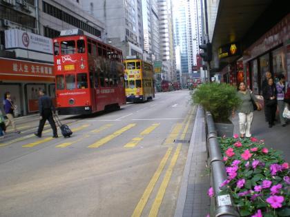 香港2012.12トラム電車