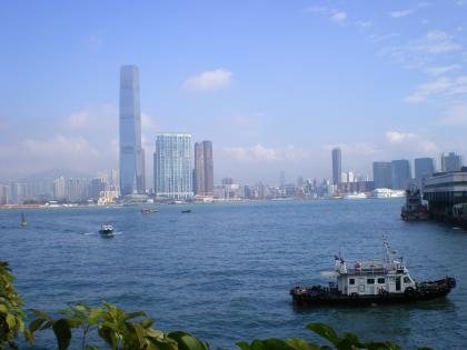 香港2012.12信徳センターから九龍