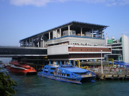 香港2012.12マカオフェリーターミナル