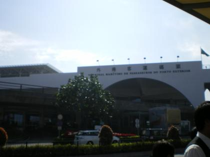 香港2012.12マカオのフェリーターミナル外観