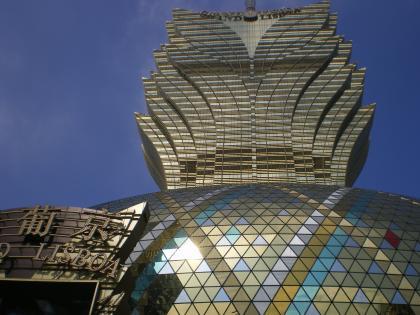 香港2012.12マカオ新リスボア外観