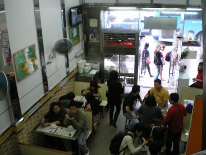 香港2012.12マカオ義順牛奶公司店内