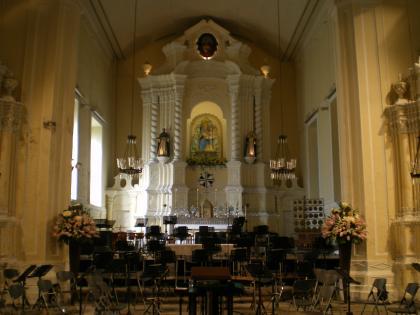 香港2012.12マカオ聖ドミニコ教会内部①