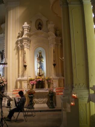 香港2012.12マカオ聖ドミニコ教会内部②
