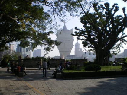 香港2012.12マカオモンテ砦内部①