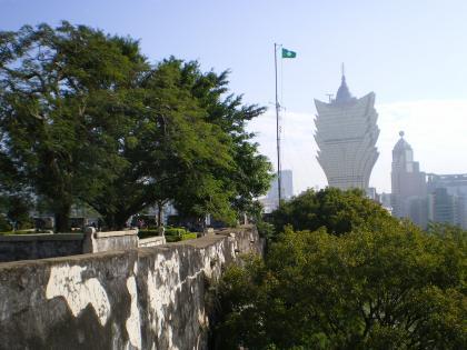 香港2012.12マカオモンテ砦内部②