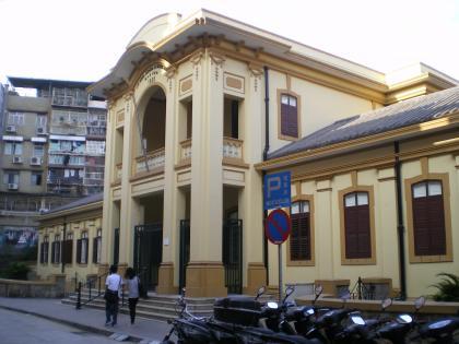香港2012.12マカオ古い事務所ビル