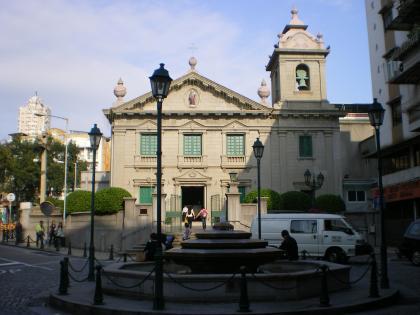 香港2012.12マカオ聖アントニオ教会1