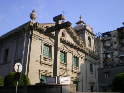 香港2012.12マカオ聖アントニオ教会2