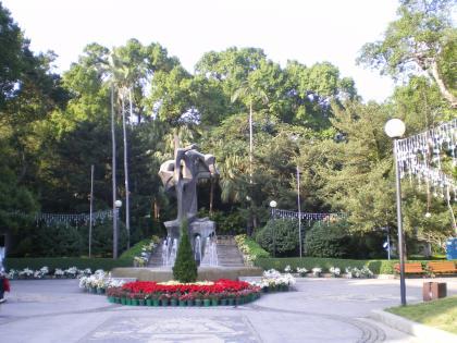 香港2012.12マカオ東方基金会公園