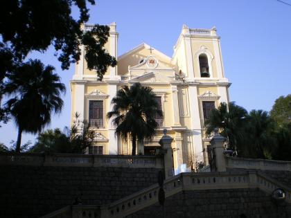 香港2012.12マカオ聖ローレンス教会