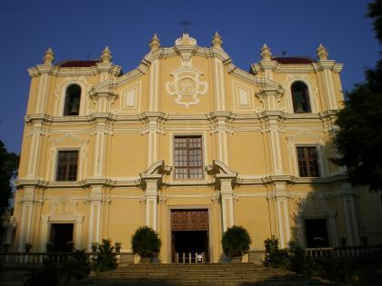 香港2012.12マカオ聖ヨセフ修道会聖堂
