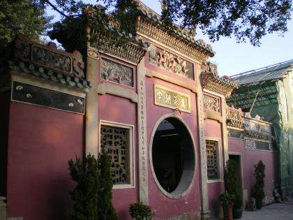 香港2012.12マカオ媽閣廟内部入口