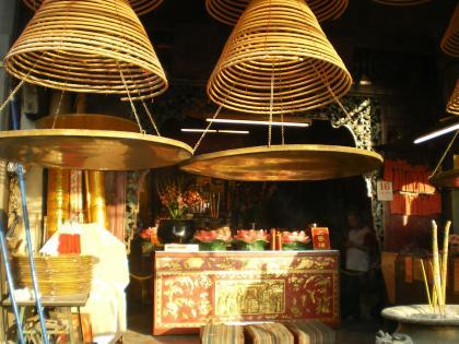 香港2012.12マカオ媽閣廟ご本尊
