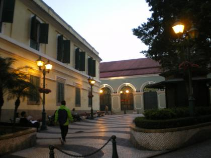 香港2012.12マカオセントオーガスティティン広場