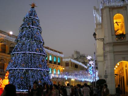 香港2012.12マカオセドナ夜景3