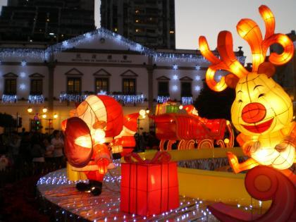 香港2012.12民生総署とセドナイルミネーション