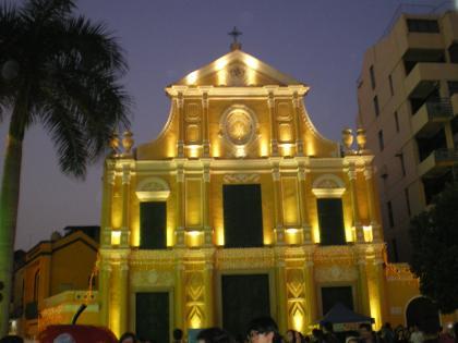 香港2012.12マカオ聖ドミニコ教会