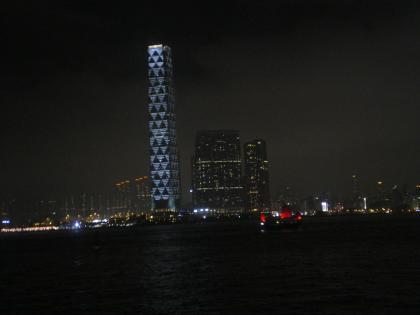 香港2012.12香港到着夜景1