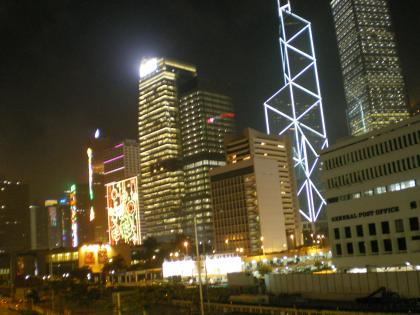 香港2012.12香港到着夜景2