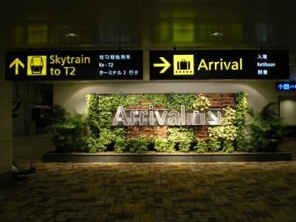 シンガポール2013.1シンガポール到着2