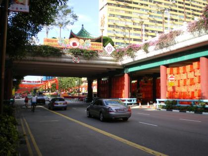 シンガポール2013.1チャイナタウン旧正月1