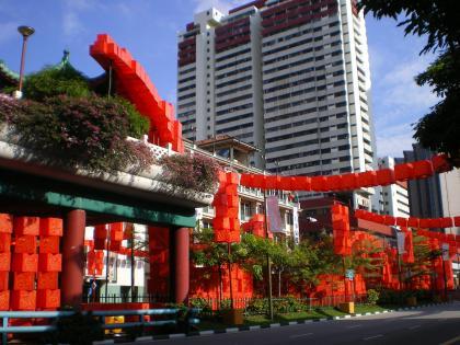 シンガポール2013.1チャイナタウン旧正月2