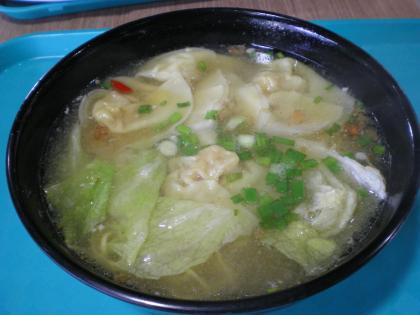 シンガポール2013.1コピティアム・ワンタン麺
