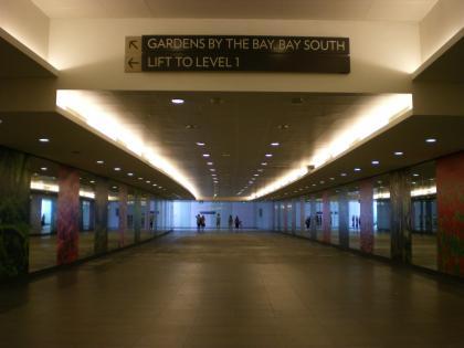 シンガポール2013.1マリーナベイ駅
