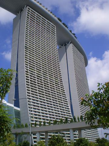 シンガポール2013.1マリーナベイサンズ
