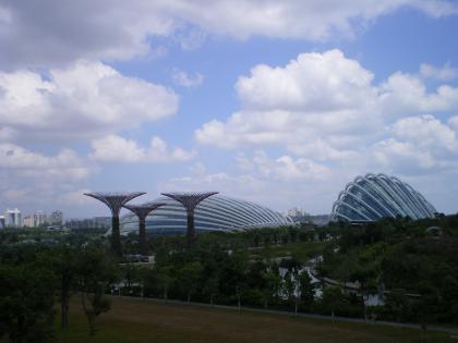 シンガポール2013.1ガーデンバイザベイから後に