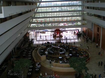 シンガポール2013.1マリーナベイサンズ内部