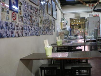 シンガポール2013.1蘭州垃麺店内