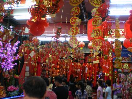 シンガポール2013.1チャイナタウン店舗2