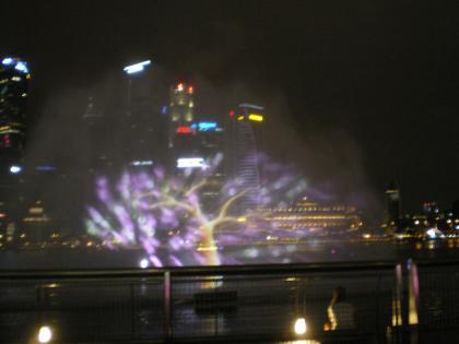 シンガポール2013.1マリーナベイ・ワンダーフル