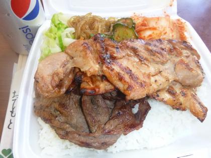 ハワイ2013.7第2日昼食MeBBQ